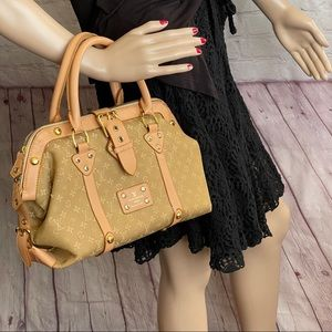 Louis Vuitton Handbag Trevi PM Brown Satchel